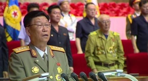 朝军总政治局局长金秀吉率团访华