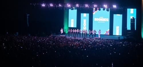 资料图片:韩流庆典KCON CJ娱乐供图