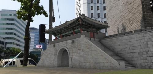 首尔历史建筑敦义门数字复原项目完成