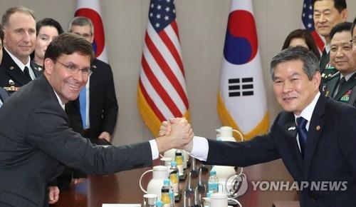 韩美防长通电话讨论韩日军情协定终止问题