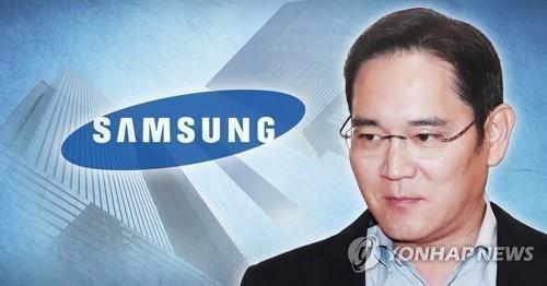 三星电子副总裁李在镕 韩联社