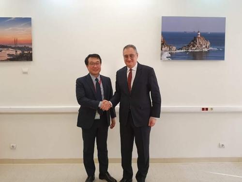 韩俄对朝代表在俄远东进行磋商