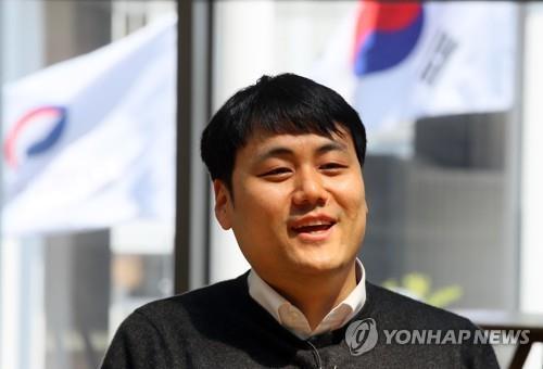 资料图片:韩国产业通商部贸易摩擦应对课长郑韩尔(音) 韩联社