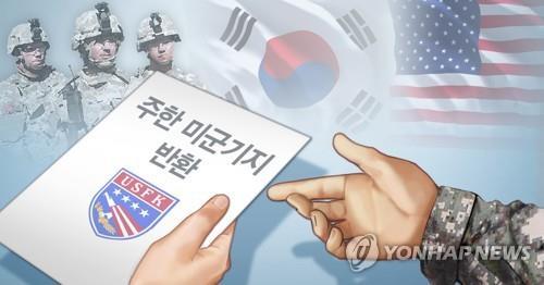 驻韩美军:有15处基地可尽早返还韩方