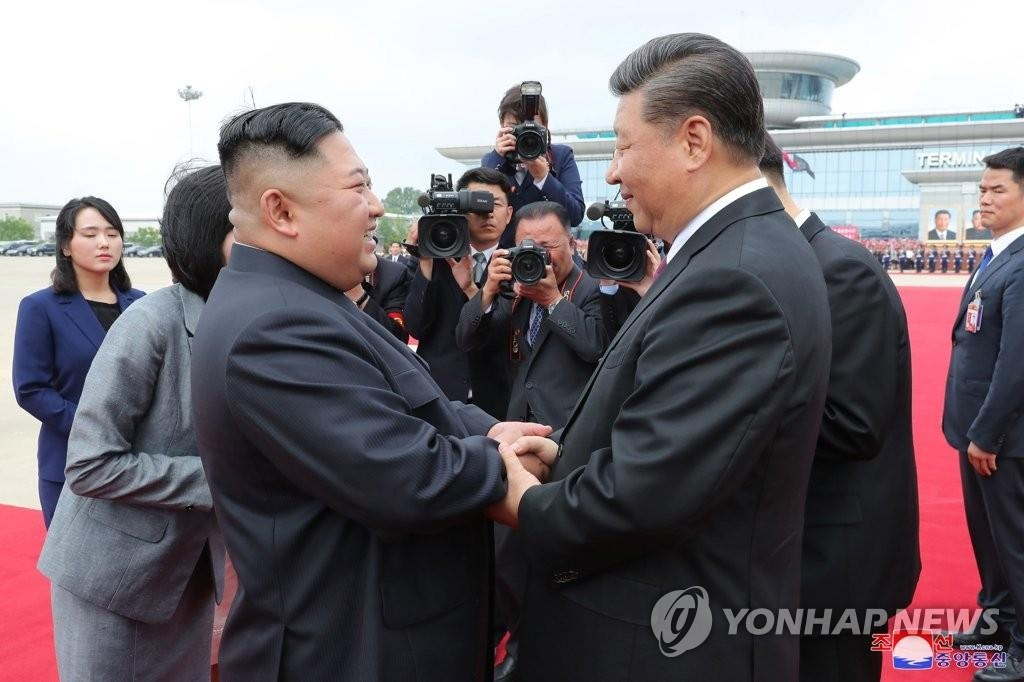 金正恩回电习近平:巩固发展朝中友谊