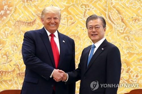 韩美领导人明会晤 无核化议题引关注