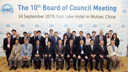 韩中水资源管理机构将签水利合作协议