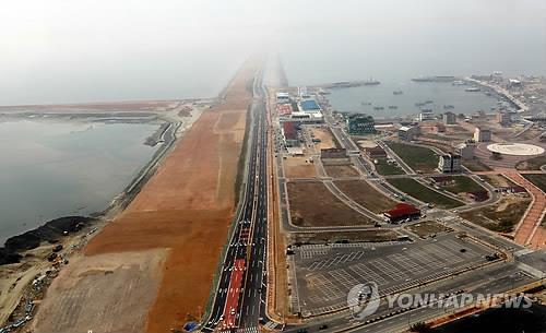 韩中产业园交流会在新万金举行