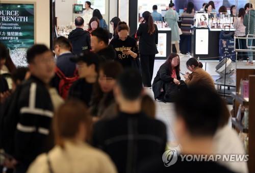 韩国免税店8月销售额创新高