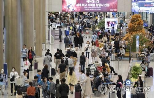 韩国人近两年境外超免税额刷卡消费42亿美元