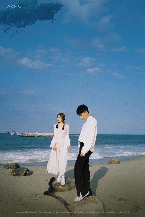 乐童音乐家正规三辑《航海》海报 韩联社/YG娱乐供图(图片严禁转载复制)