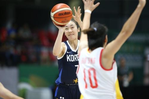 韩国女篮不敌中国队无缘亚洲杯决赛