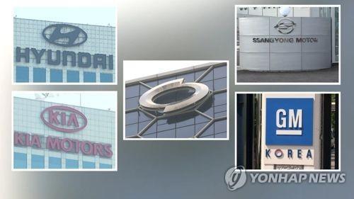 韩国五大整车厂商9月销量同比减2.2%