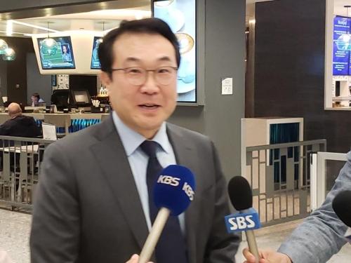 韩对朝代表抵美 将与美方讨论朝美对话