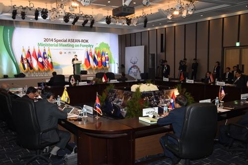 韩-东盟林业部长会议将在首尔举行