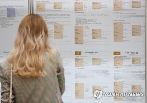 调查:三成韩国求职者就业不看单位类别