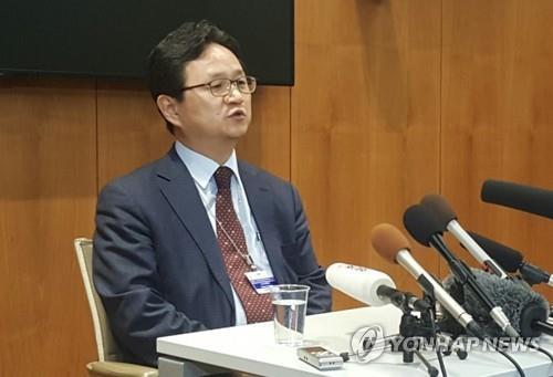 产业通商资源部新通商秩序合作官丁海官 韩联社