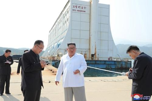 详讯:金正恩视察金刚山指示拆除韩方设施