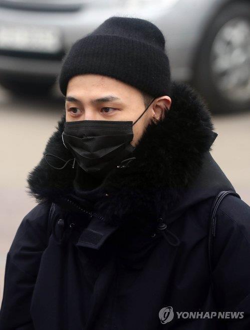 资料图片:BIGBANG队长G-DRAGON 韩联社