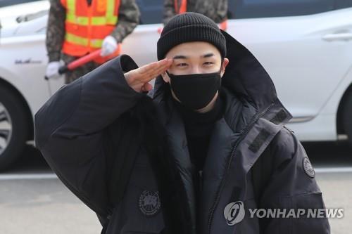 资料图片:BIGBANG太阳 韩联社