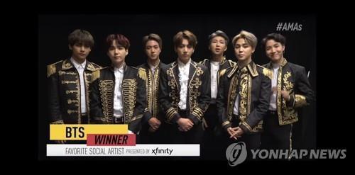 一周韩娱:BTS获全美音乐奖提名 TXT推新专辑