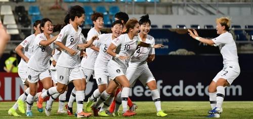 U19女足亚锦赛韩国2比1战胜中国