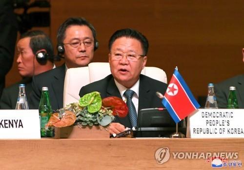 朝鲜二把手在国际会议上促美放弃敌对政策