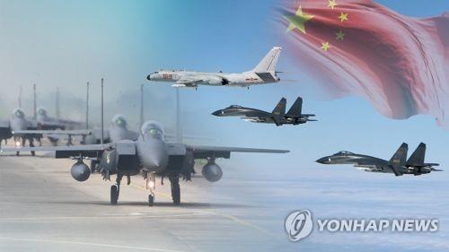 中国战机通报飞行计划后入韩国防识区引关注
