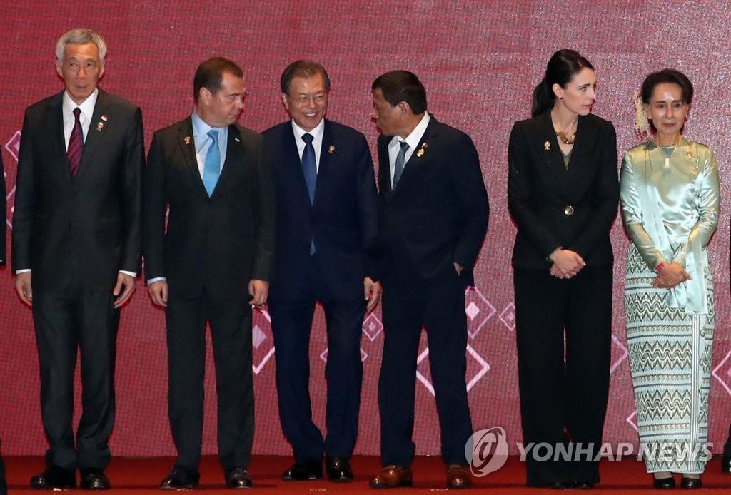 文在寅出席东亚峰会称将助力印太合作