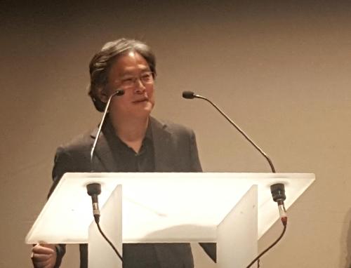 韩名导朴赞郁在日内瓦国际电影节获奖