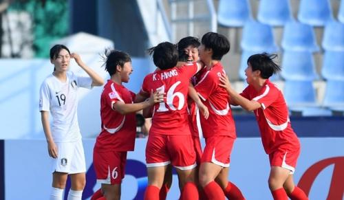 U19女足亚锦赛韩国1比3惜败朝鲜