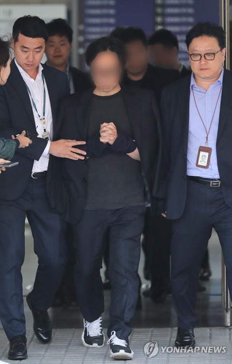 制作人安某被批捕。 韩联社