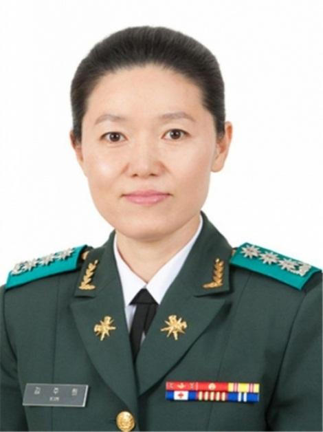 金周姬准将 韩联社/国防部供图(图片严禁转载复制)