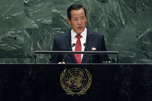 朝鲜常驻联合国代表吁美国落实朝美联合声明