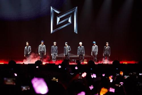跨团组合SuperM开启北美巡演