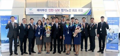 釜山航空先后开通四条仁川出发国际线