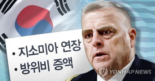 美军参谋长联席会议主席马克·米利访韩