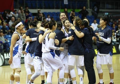 女篮东京奥运资格赛韩国以一分之差险胜中国