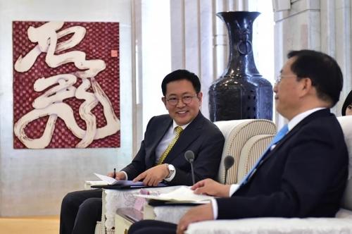 仁川市长率团访华力推与渝鲁经济合作