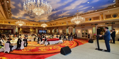 资料图片:11月11日,在重庆,仁川市政府举行旅游推介会。 仁川市政府供图(图片严禁转载复制)