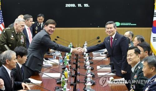 简讯:韩美将以公平互认原则敲定防卫费分担额