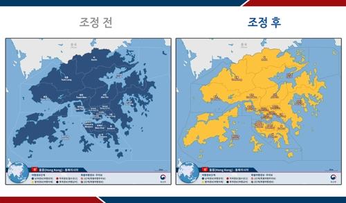 韩国上调赴港旅游安全预警