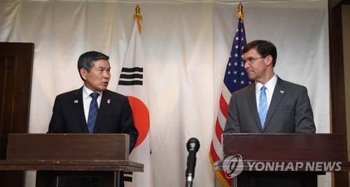 韩青瓦台期待韩美军演延期促进朝美对话
