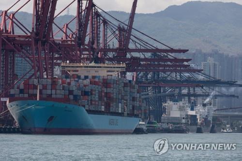 今年前10月韩国对港出口同比减33%