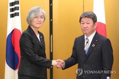 韩外长:将与日协调争取下月举行韩日首脑会谈