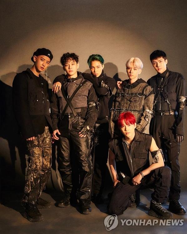 资料图片:EXO SM娱乐供图(图片严禁转载复制)