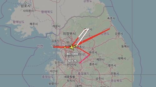 朝鲜试射后美侦察机再现身半岛上空