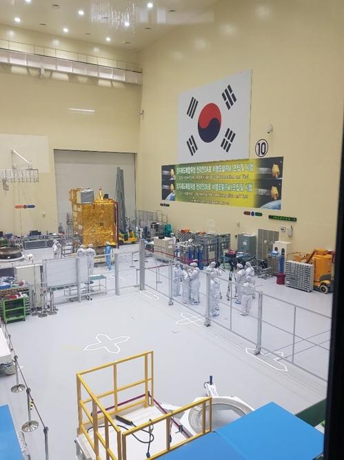 """韩国自主研发卫星""""千里眼2B""""号明年发射"""