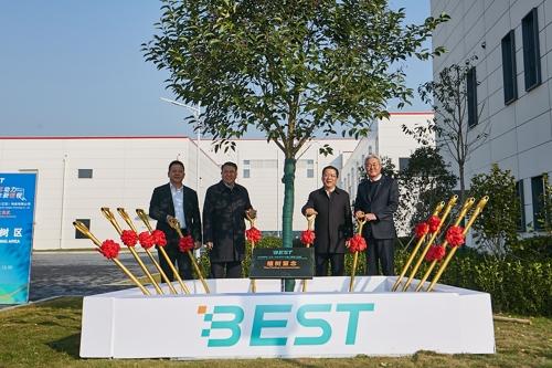 SK创新常州汽车电池厂竣工