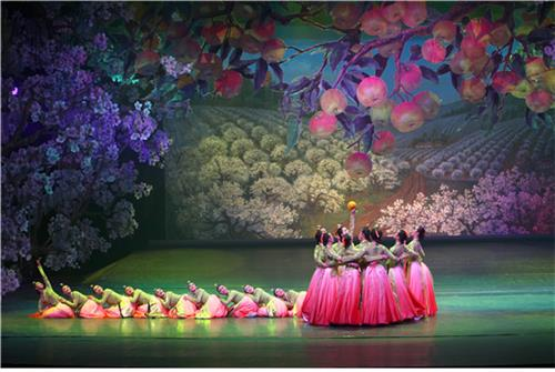 中国延边歌舞团表演 韩国民族舞协会博客截图(图片严禁转载复制)